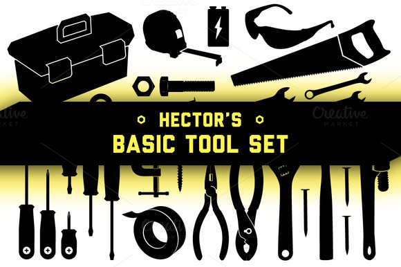 Basic Tool Set Vector