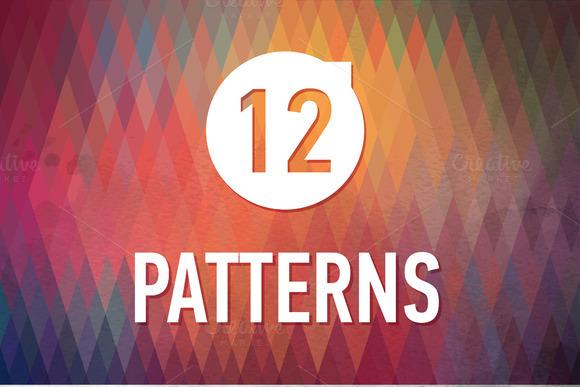 12 Bridht Geometric Patterns