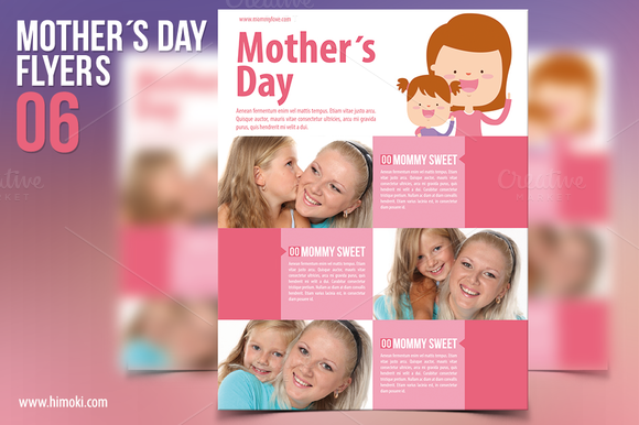Mother's Day Flyers