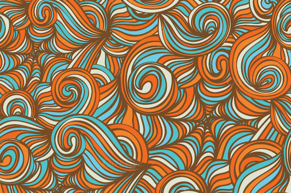 Vector Abstract Wave Patterns