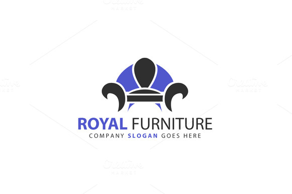 Royal Furniture Logo Template
