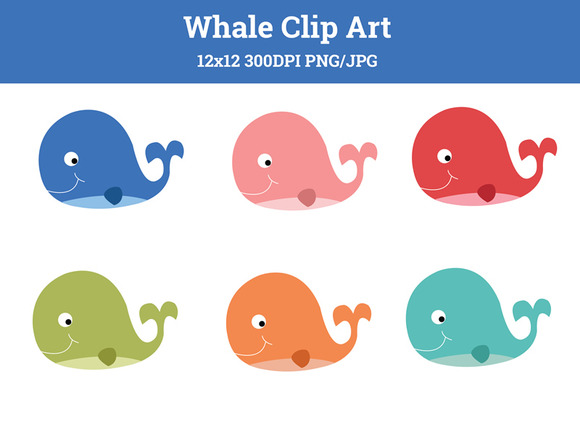 Whales Clipart