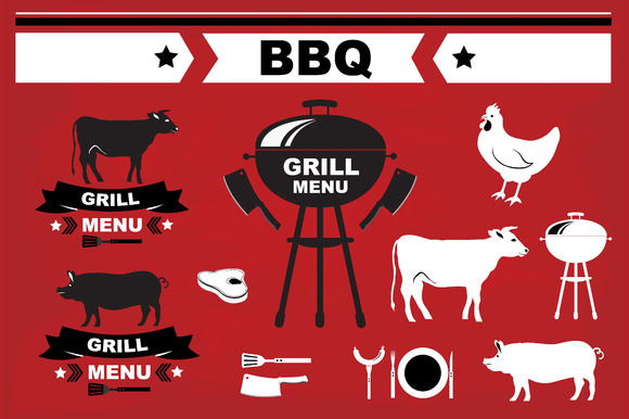 Barbecue Grill Elements
