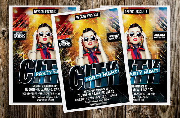 City Party Night Flyer