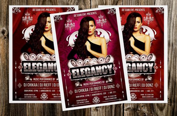 Elegancy Party Flyer