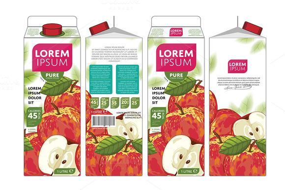 Packaging Design Apple Juice
