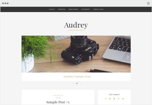 Audrey Classy Modern Theme