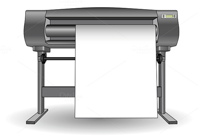 Plotter Inkjet Printer