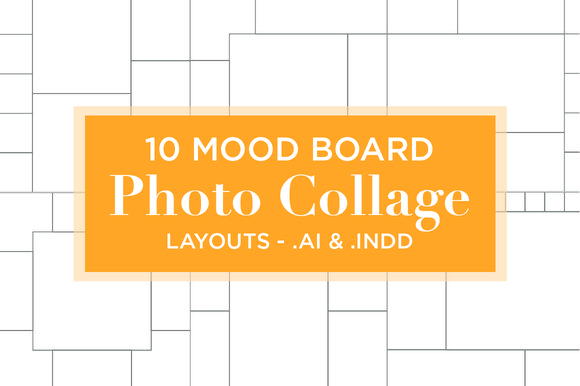 10 Mood Board Photo Collage Layouts