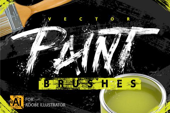 Handmade Paint Strokes Splatters