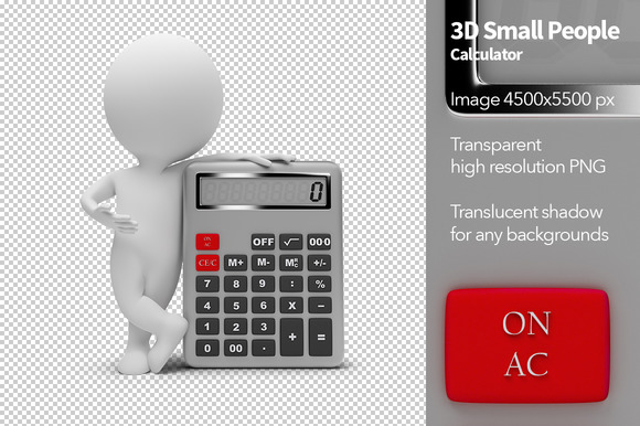 3D Small People Calculator