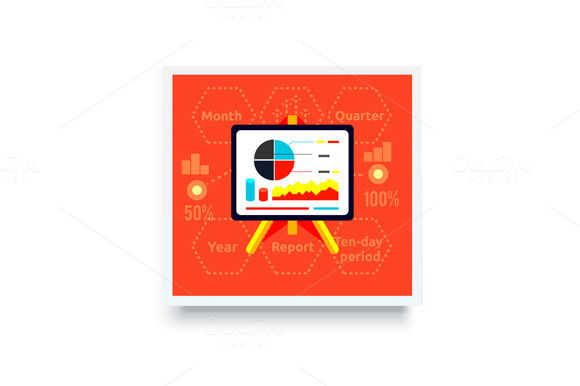 Stand With Charts And Parameters