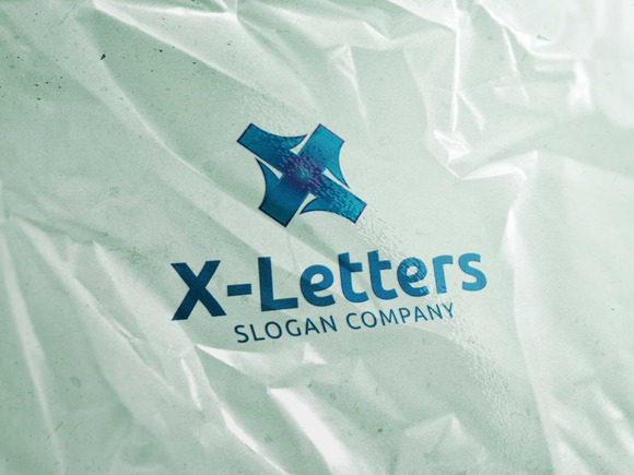X Letters Logo Template