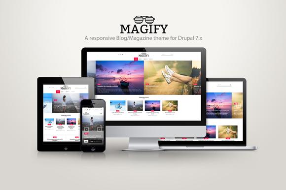 Magify A Blog Magazine Theme
