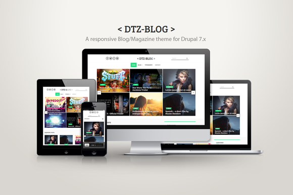 DTZ-Blog A Blog Magazine Theme