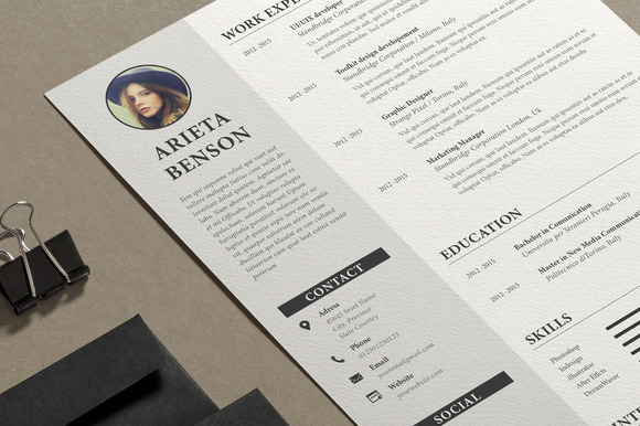 Resume-Cv Ms Word