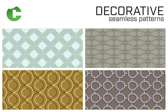 Decorative Seamless Patterns