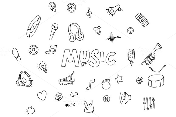 Music Doodles Collection