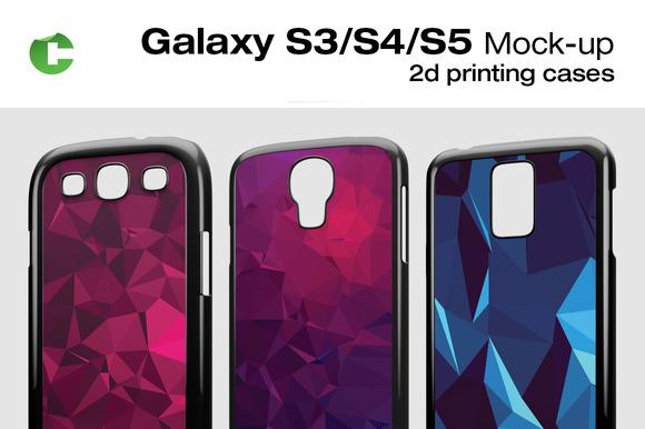 Galaxy S5 S4 S3 Mock-up