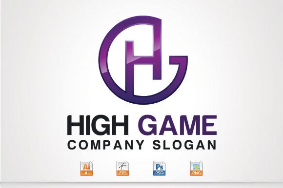 H G Letter Logo