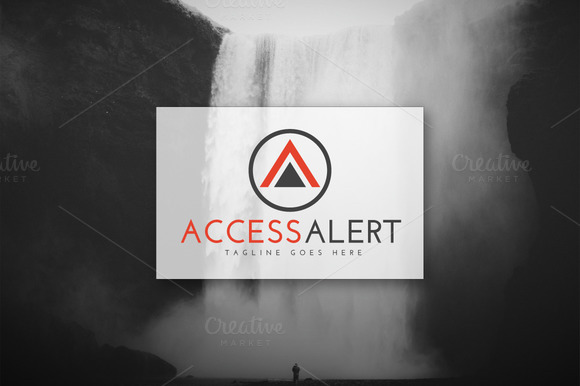 Access Alert Logo Design