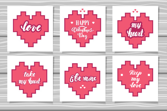 Lettering Valentine S Day Cards