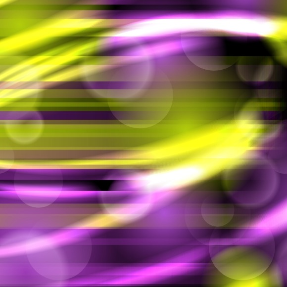 Abstract Background With Glow