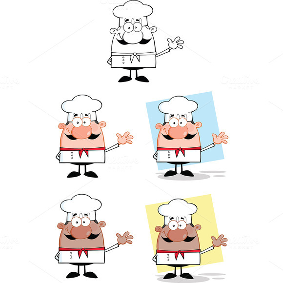 Chef Characters Collection 3