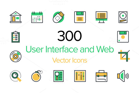 300 User Interface And Web Icons