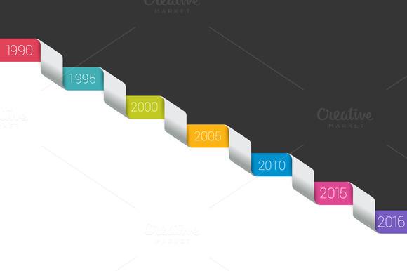Timeline Concept Template Line