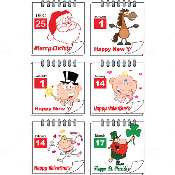 Holiday Calendars Collection 2