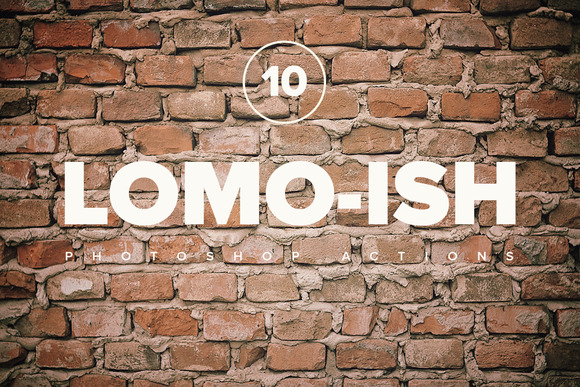 Premium Lomo-ish PS Actions