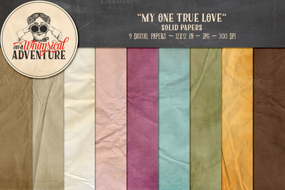 Digital Papers My One True Love