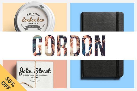Gordon Wordpress Creative Portfolio