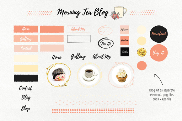 Morning Tea Blog Kit