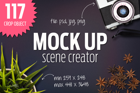 Mock Up Scene Creator