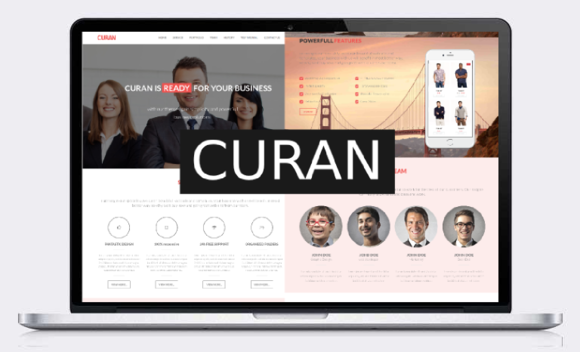 Curan Bootstrap HTML5 Template