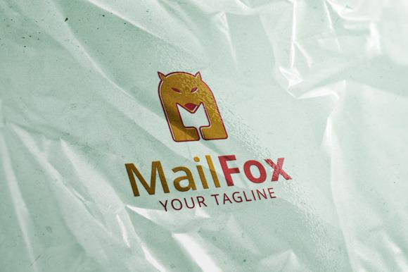 Mail Fox Logo Template
