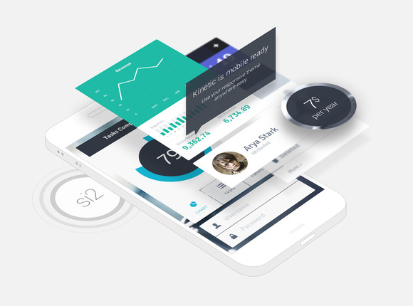 Phone App Mock-Ups