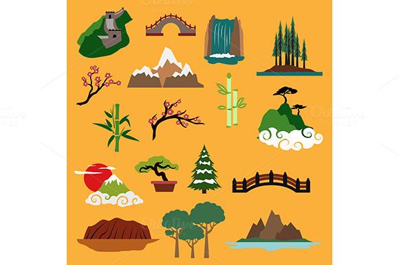 Nature Landscape Elements