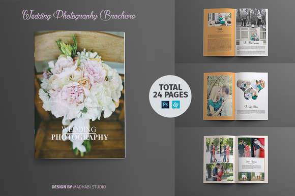 Wedding Photography Brochure Booklet