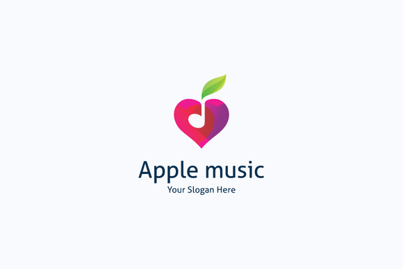 Apple Music Love Logo
