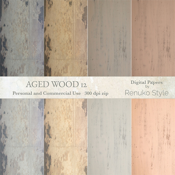 Aged Wood 12 Textures