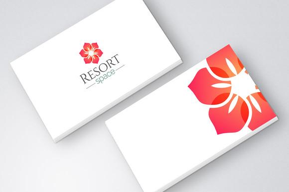 Flower Resort Spa Logo Icon