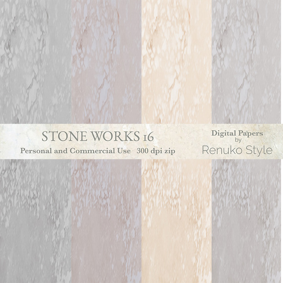 Stone Works 16 Digital Textures