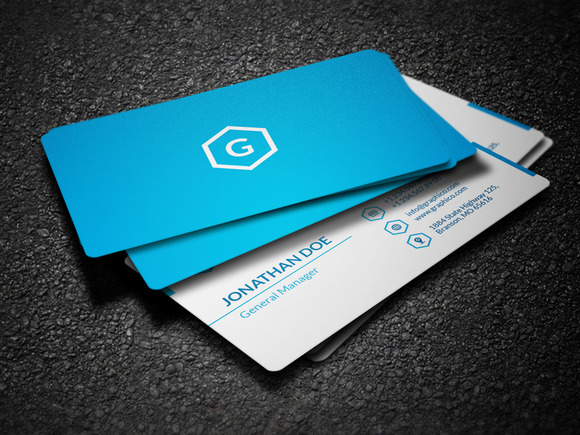 Simple Corporate Business Card 47