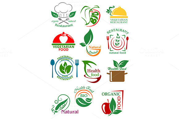 Vegetarian And Natural Healthy Food