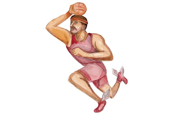 how to draw a basketball player dunking