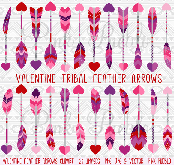 Valentine S Day Feather Arrows