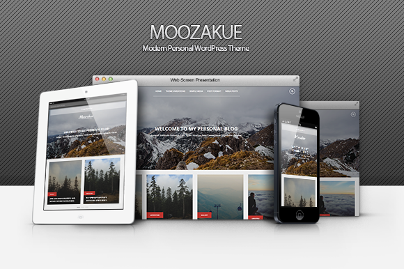 Moozakue Modern Blog Theme